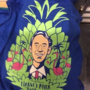 8th annual blue tshirt harvey milk festival